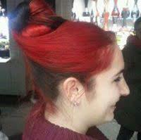 chignon sur cheveux rouges toulouse 2012