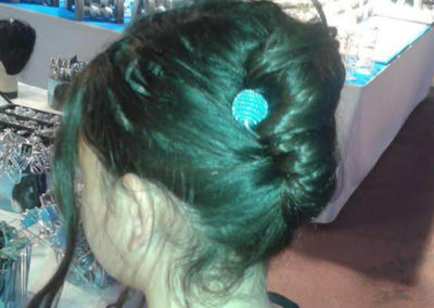 2015 chi bandol epingle fantaisie turquoise