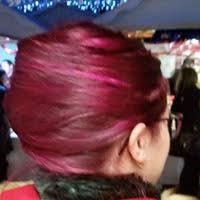 chignon sur cheveux rouges toulouse 2013