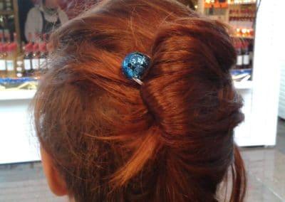 epingle bollywwod bleu cheveux roux toulouse marche de noel 2013