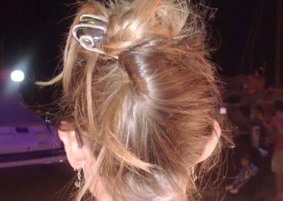 epingle grosse perle verte cheveux blands venitiens bandol 2014