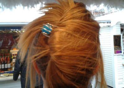 epingle perle de verre turquoise toulouse marche de noel 2013